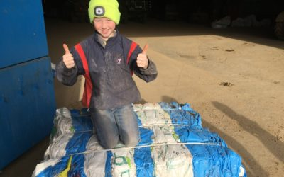 Logan takes the top spot in QMS Farm Kid Diaries competition