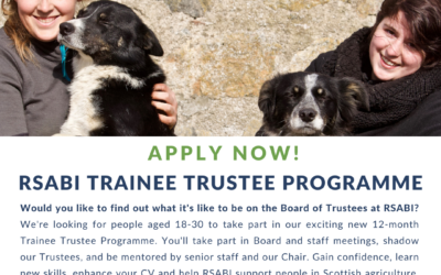 Agricultural Charity launches Trainee Trustee programme