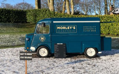 Young Aberdeenshire man launches retro coffee van pop-up