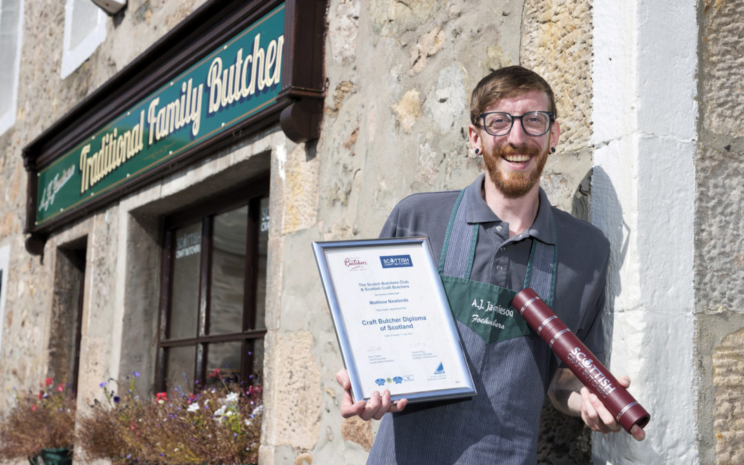 Fochabers butcher first to start carving-up on craft butchery skills