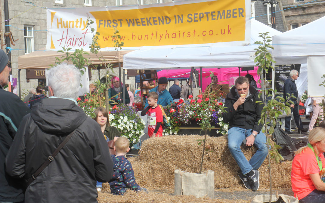 Huge crowds flocked to Huntly's Hairst